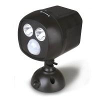 Battery Operated Wireless LED Spotlight Motion Sensor ...