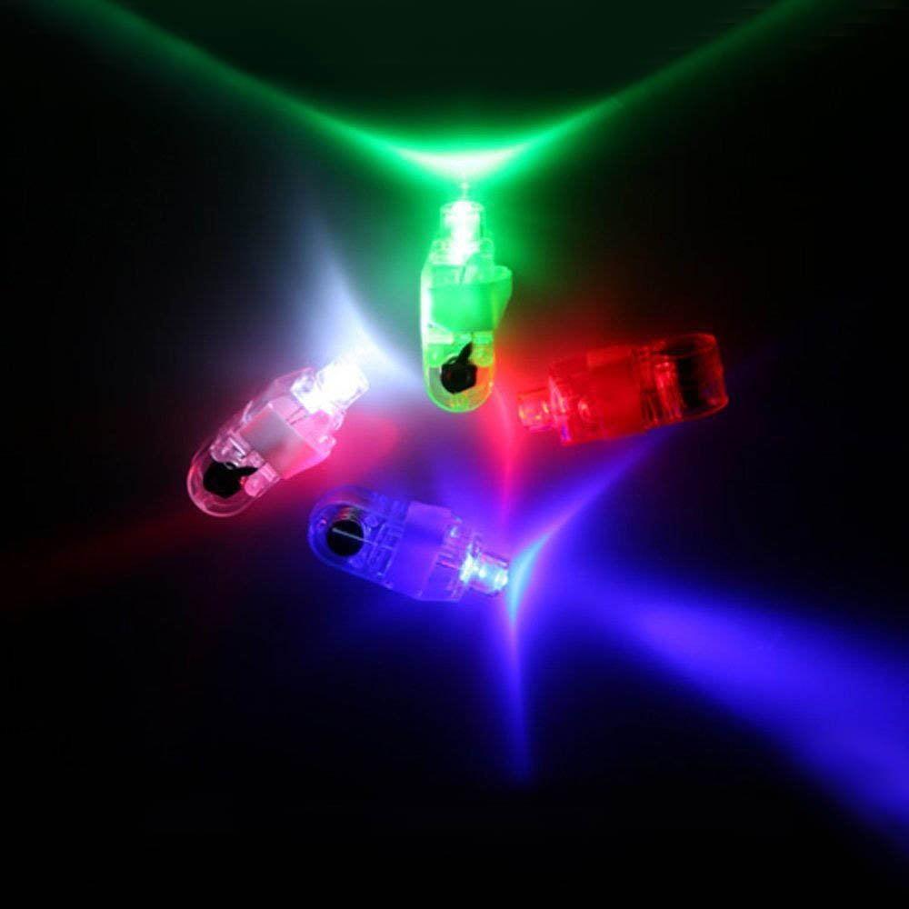 100pcs Finger Light Up Ring Laser LED Rave Party Favors