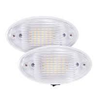 2x LED Ceiling Porch Light Fixture 12V RV Interior ...