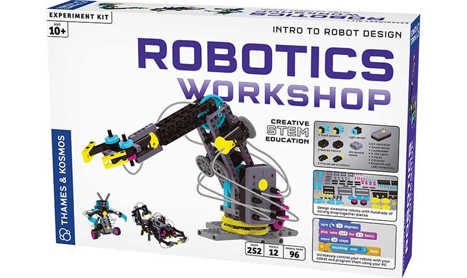 Thames Amp Kosmos Robotics Workshop Intro To Robot Design