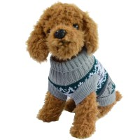 Small Pet Dog Sweater Winter Warm Clothes Crochet Coat For ...
