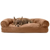 FurHaven Quilted Pillow Sofa Dog Bed Pet Bed | eBay