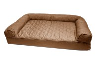 FurHaven Quilted Orthopedic Sofa Dog Bed Pet Bed | eBay
