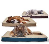 FurHaven Indoor / Outdoor Deluxe Memory Foam Pet Bed