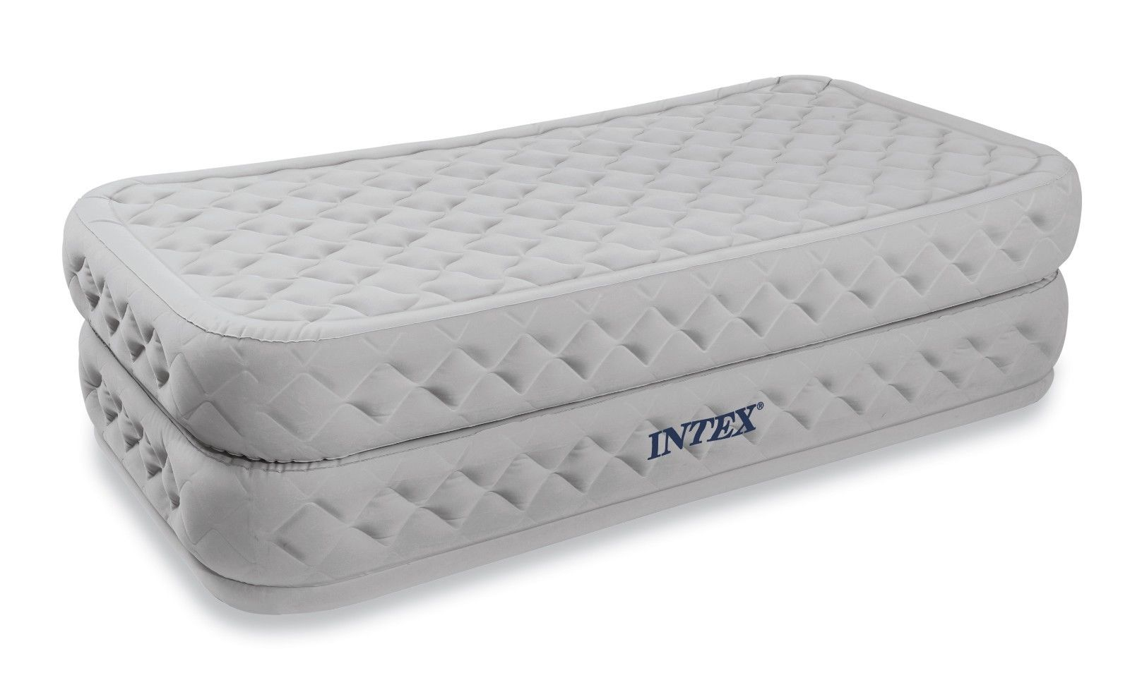 inflatable double sofa bed mattress seat w pump top rated sofas in canada intex twin supreme air flow raised airbed