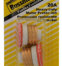 bussmann bp t 20 20 amp type t time delay dual element edison base plug fuse 125v ul listed carded 2 pack [ 793 x 1500 Pixel ]