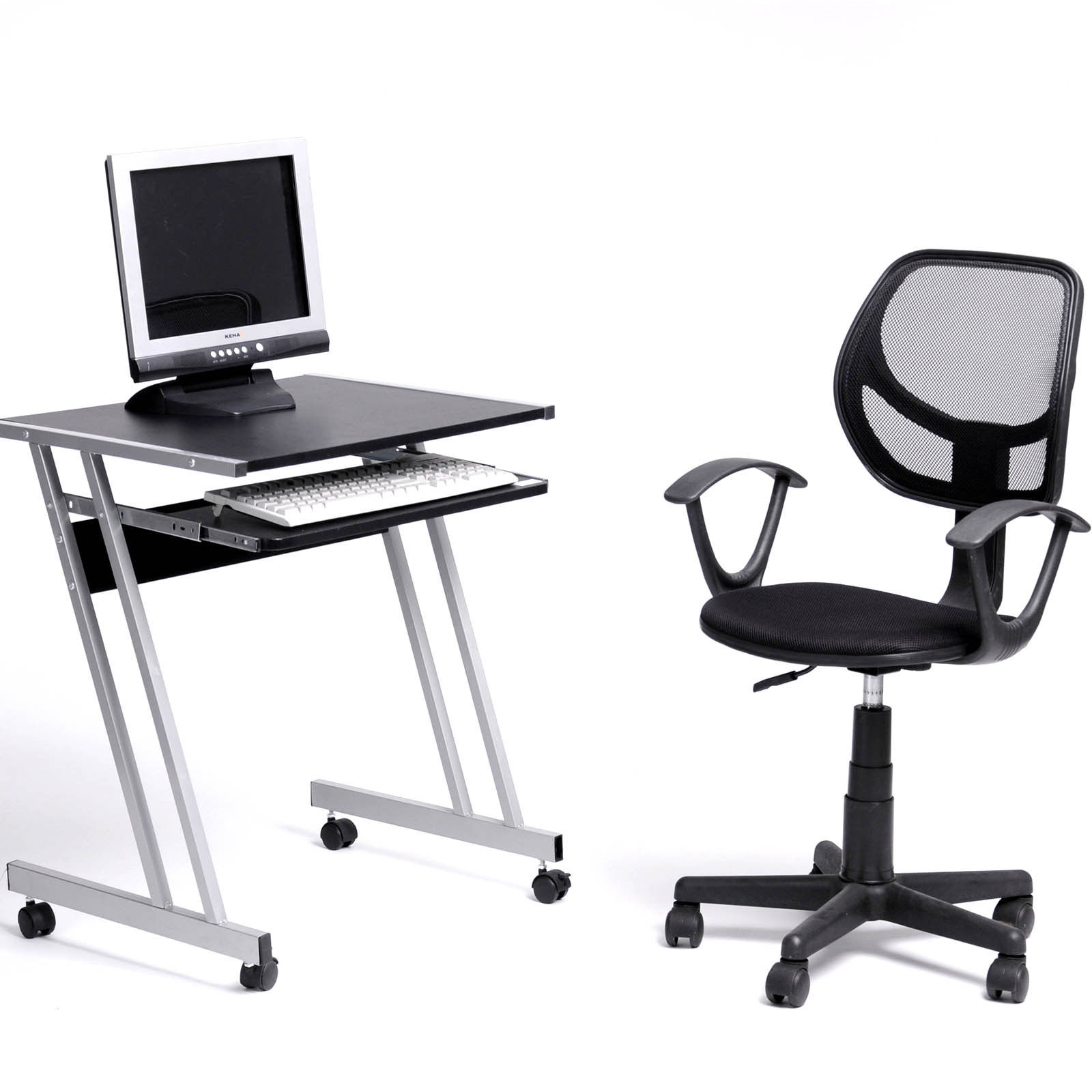 office chair with adjustable arms white wishbone ergonomic mid back home task computer