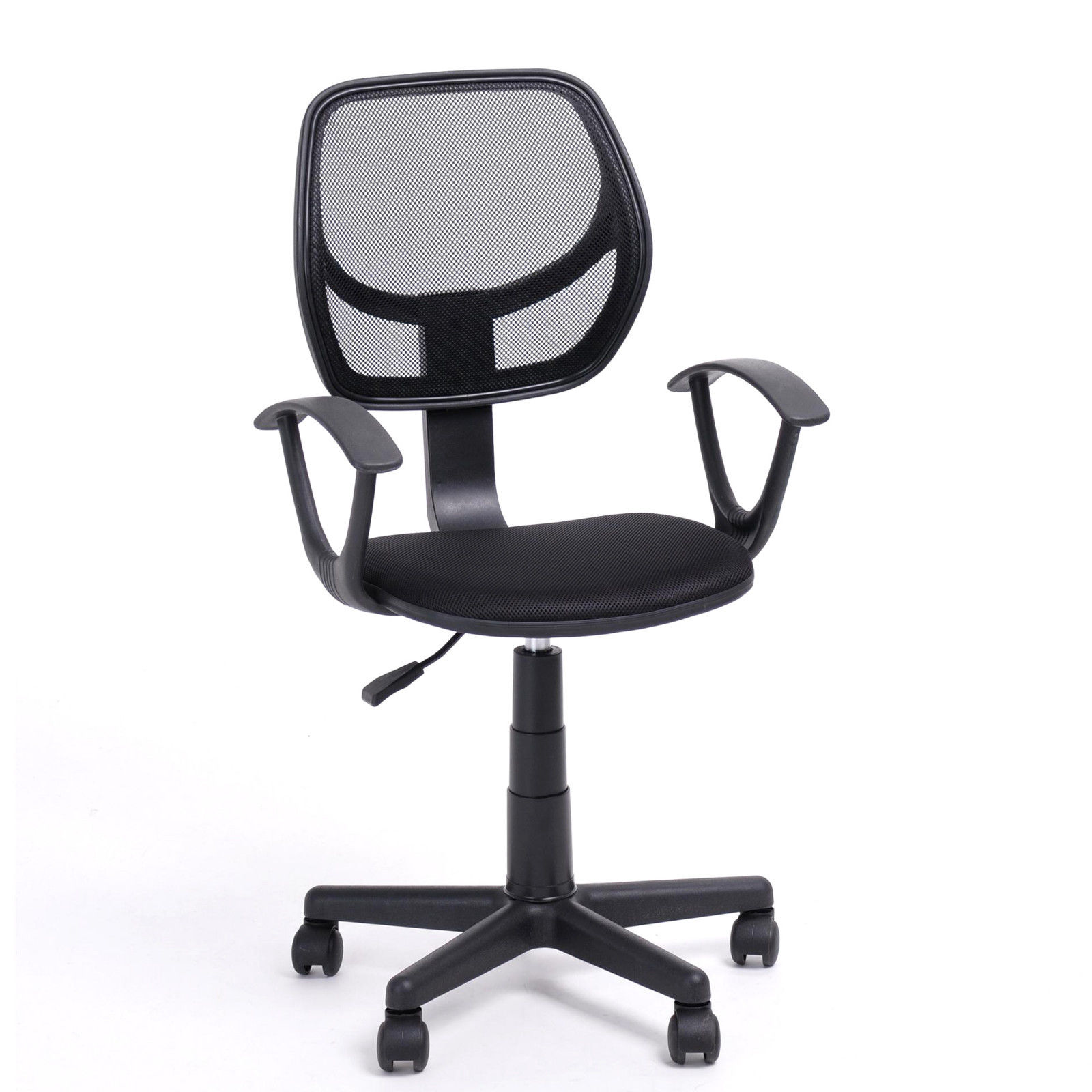 office chair with adjustable arms desk harvey norman ergonomic mid back home task computer
