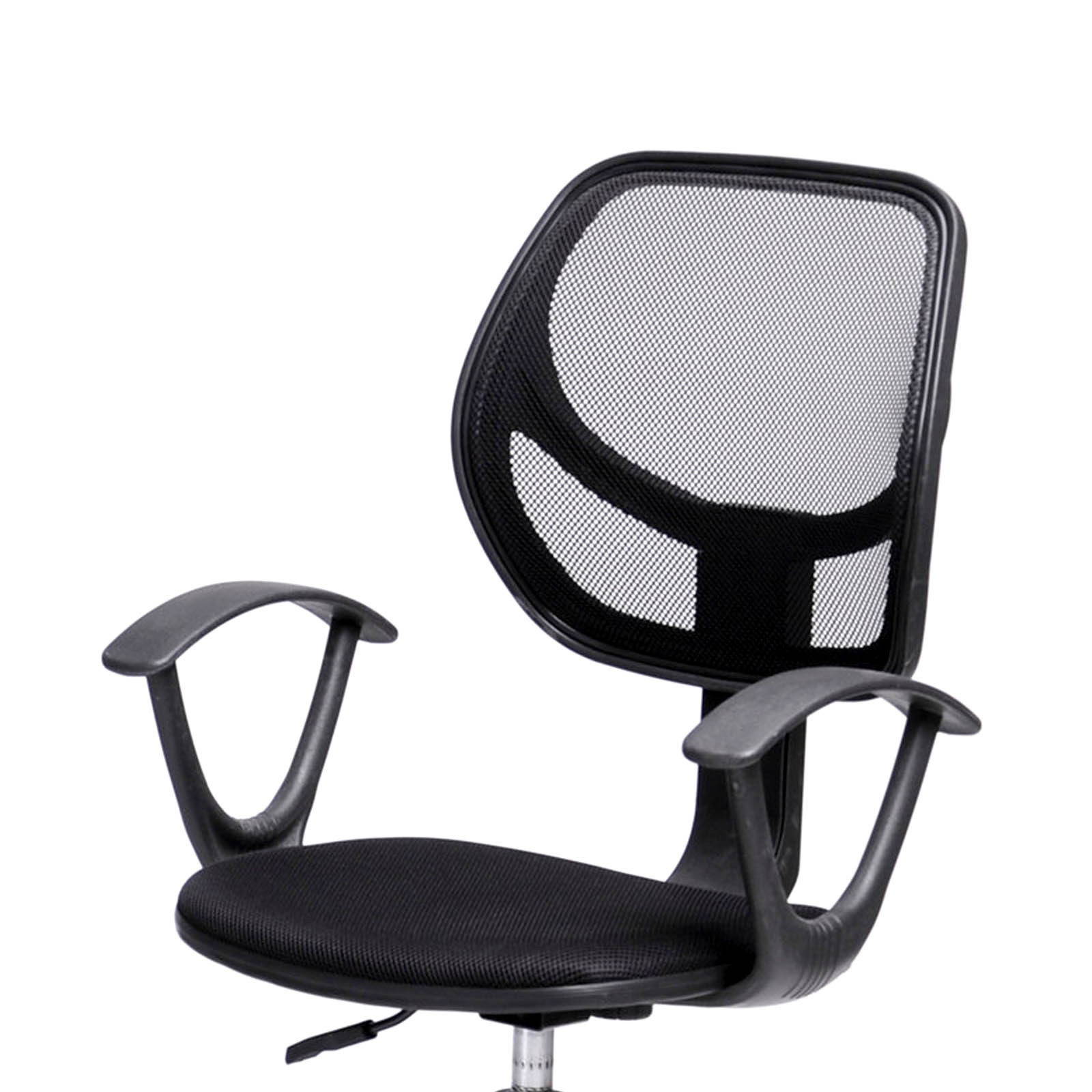 office chair with adjustable arms infant bath tub ergonomic mid back home task computer