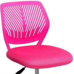 Desk Chair Pink Game Table Chairs With Casters Ergonomic Mesh Computer Office Midback Kid