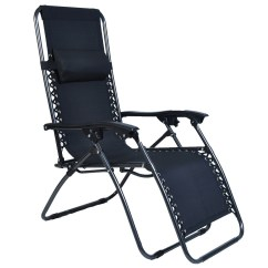 Zero Gravity Reclining Outdoor Lounge Chair 2 Pack Posture Modern Folding Patio Recliner