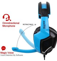 sades gaming headset stereo headphone 3 5mm wired w mic headphone jack plug wiring diagram 3 5 headset with mic wiring [ 1600 x 1600 Pixel ]