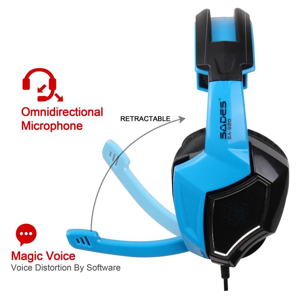 medium resolution of sades gaming headset stereo headphone 3 5mm wired w mic headphone jack plug wiring diagram 3 5 headset with mic wiring