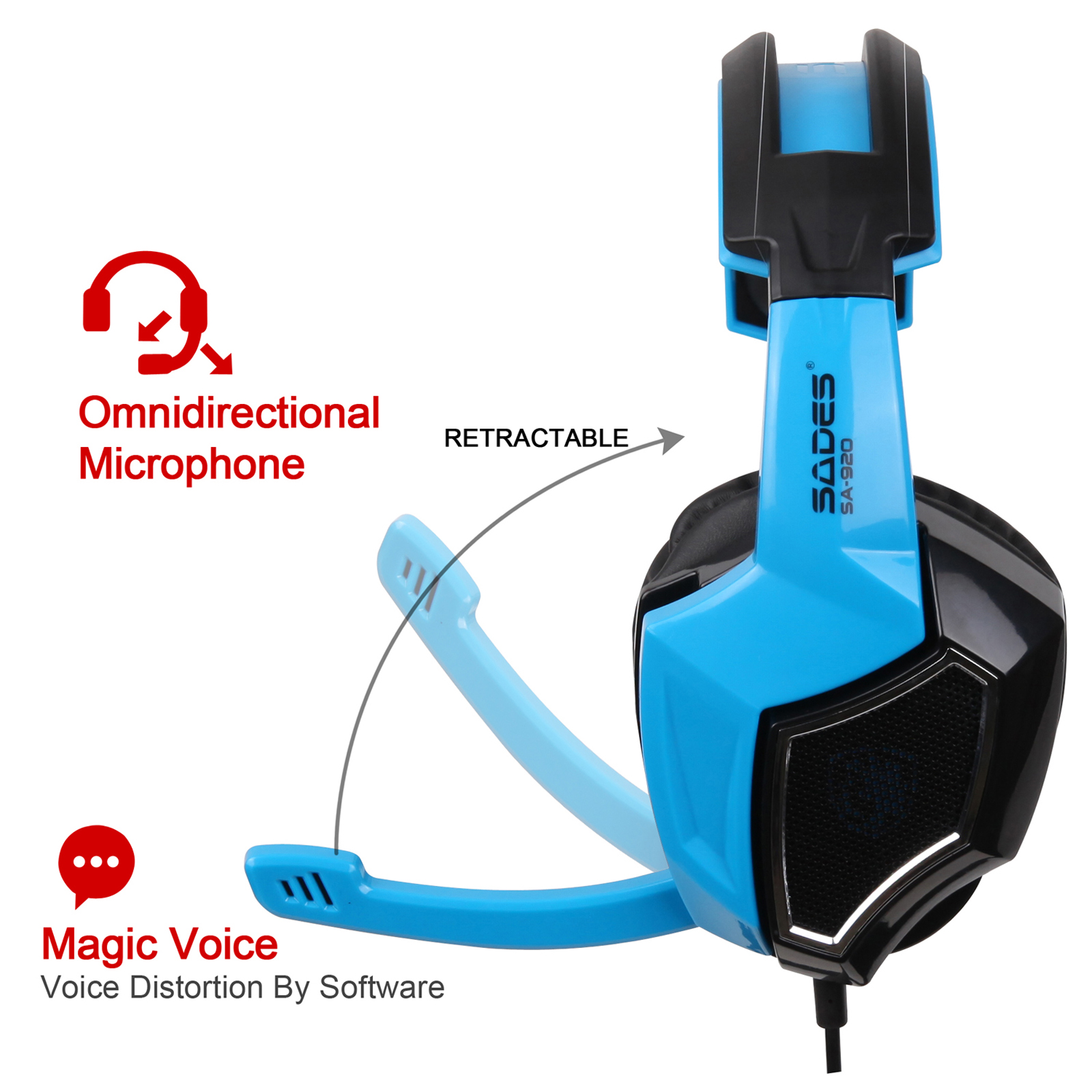 hight resolution of sades gaming headset stereo headphone 3 5mm wired w mic headphone jack plug wiring diagram 3 5 headset with mic wiring
