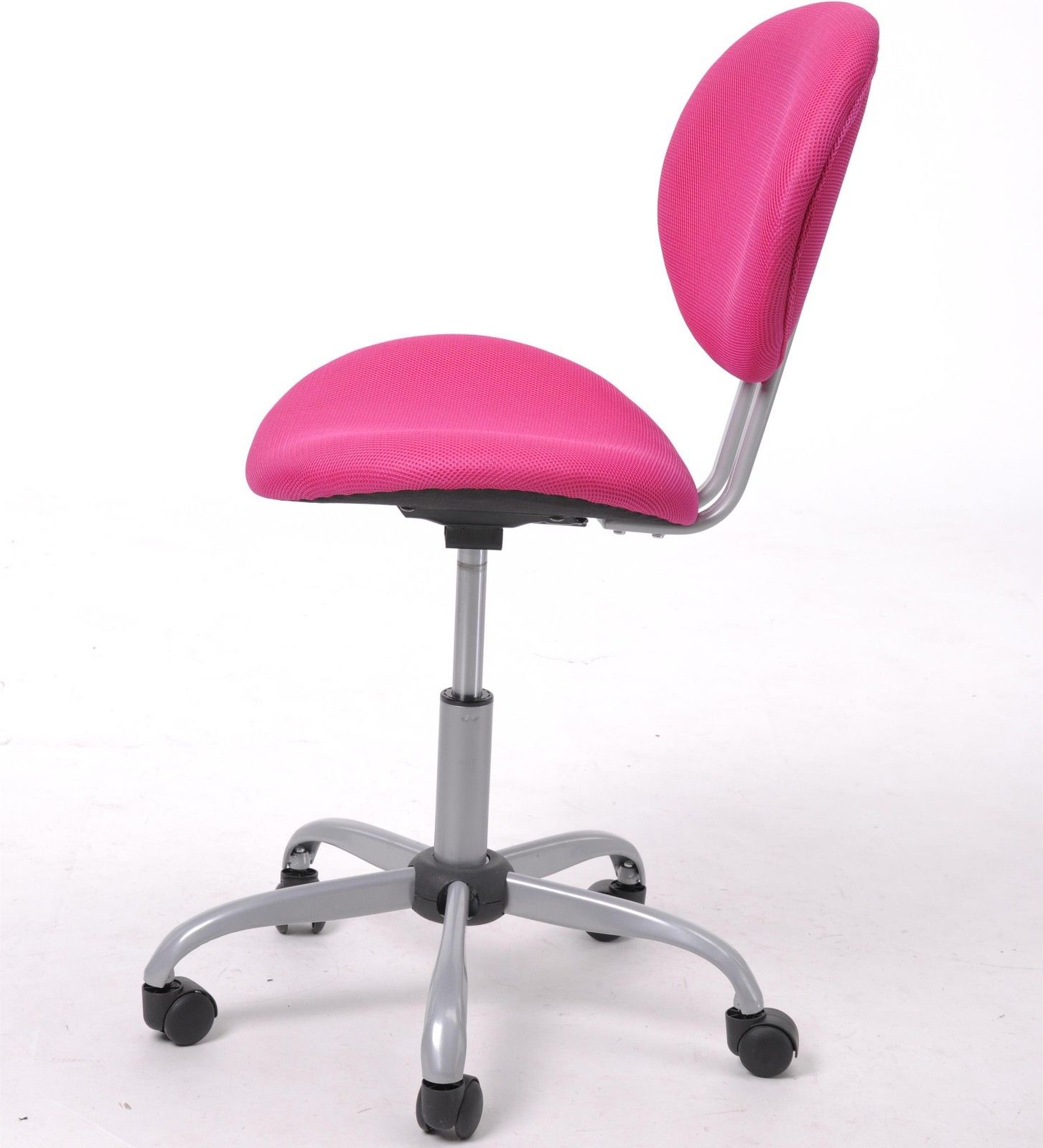 Pink Ergonomic Mesh Computer Office Chair Desk Midback Kid