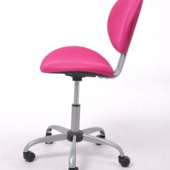 Girls Desk Chairs Can You Paint A Faux Leather Chair Pink Ergonomic Mesh Computer Office Midback Kid