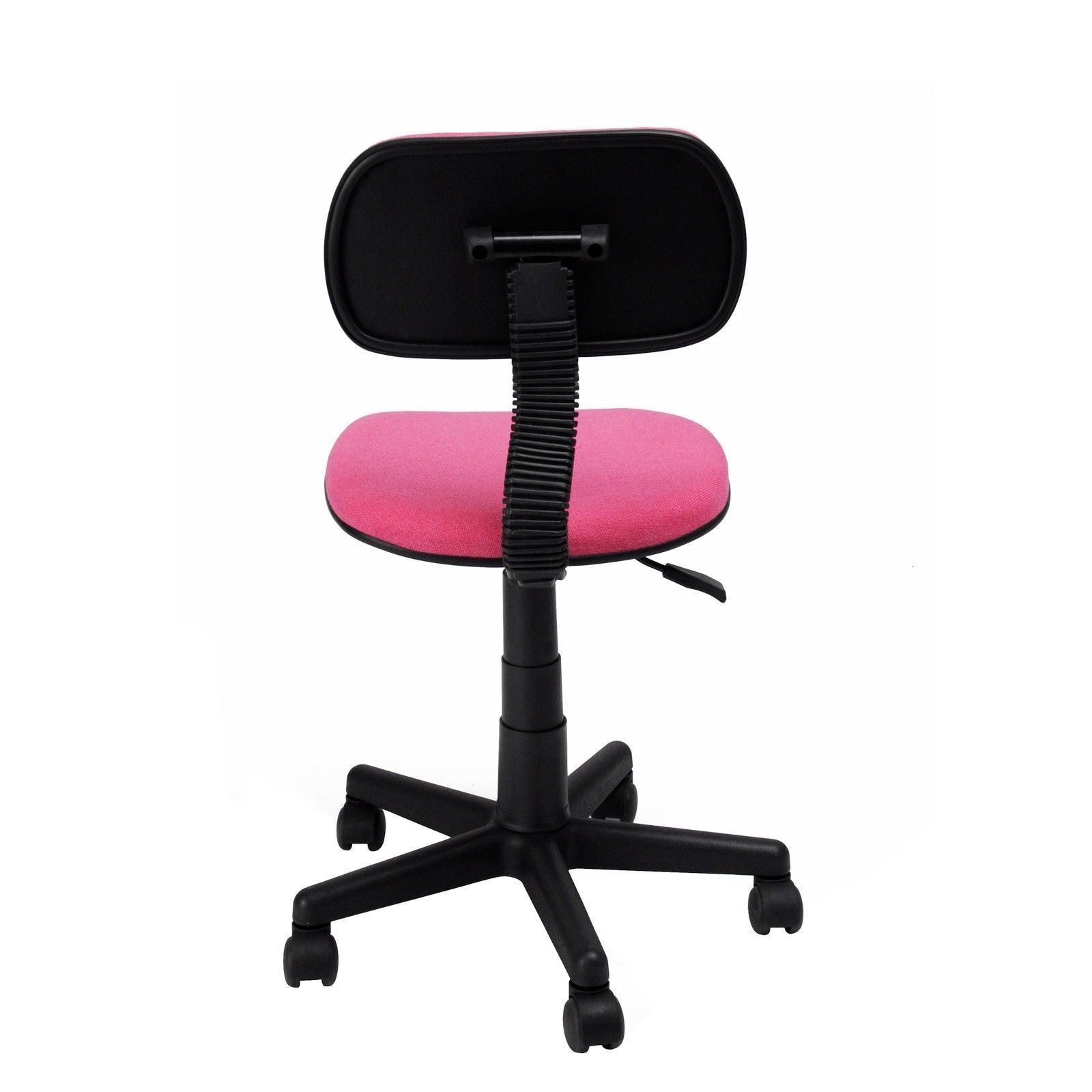 Girls Office Chair Pink Ergonomic Mesh Computer Office Chair Desk Midback Kid