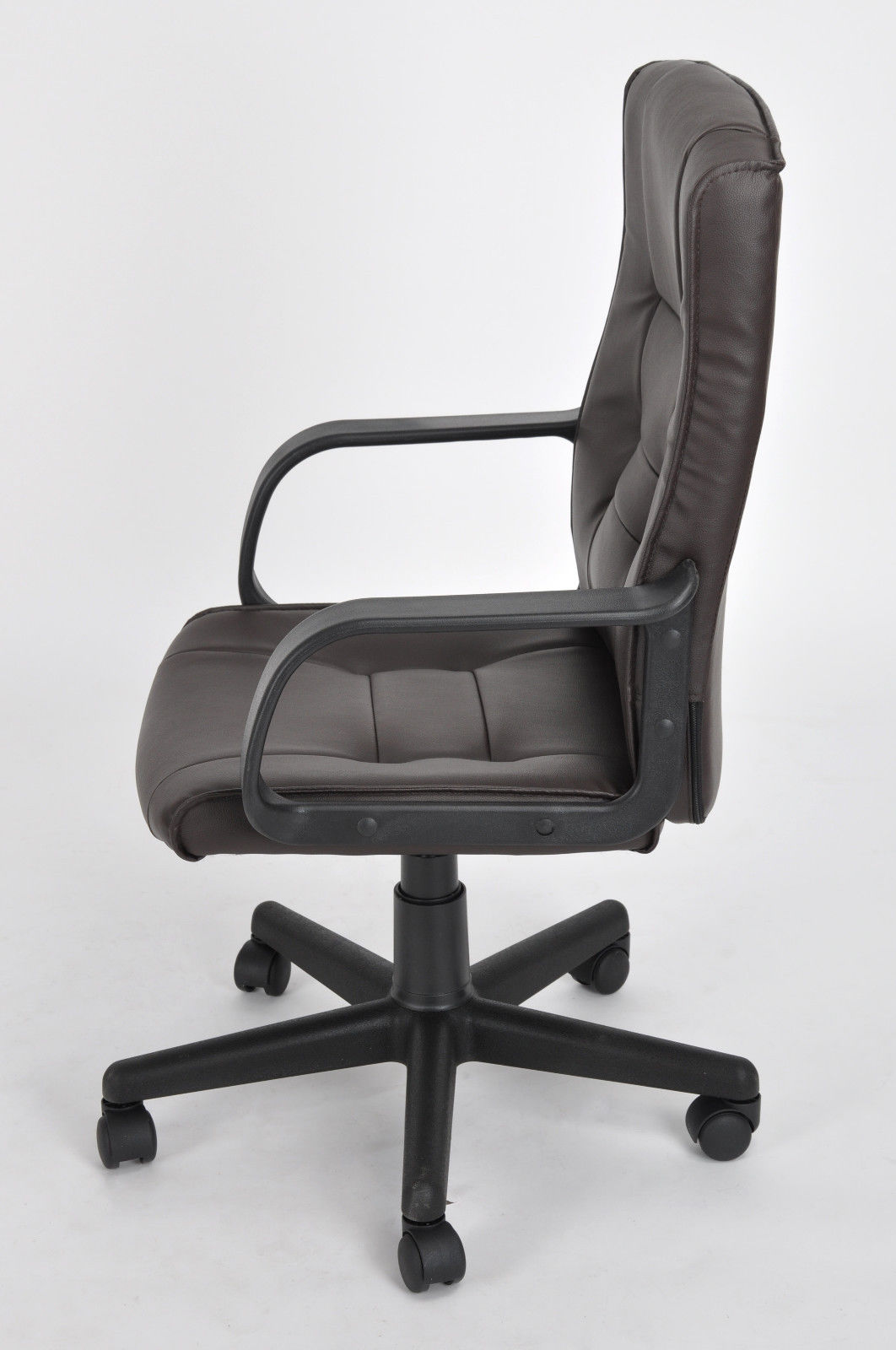 Brown Computer Chair High Back Pu Leather Executive Office Desk Task Computer