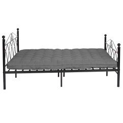 Metal Sofa Bed Parts Hunter Green Sectional Full Size Frame Platform Headboards W 10 Legs