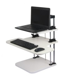 Computer Standing Desks lifter Sit/Stand Desk Two-Level ...