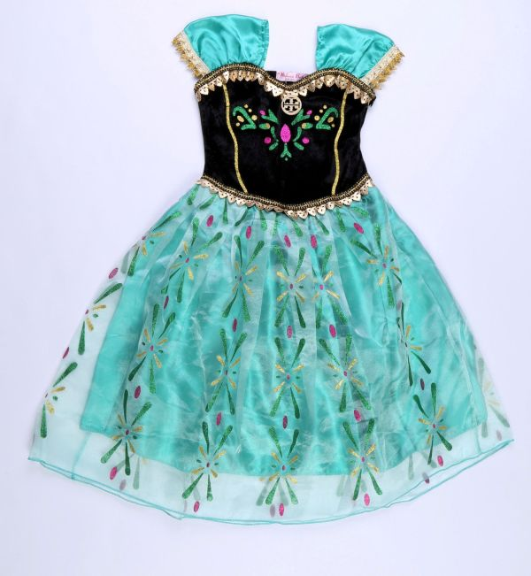 Girls Kids Princess Ice Queen Birthday Party Outfit