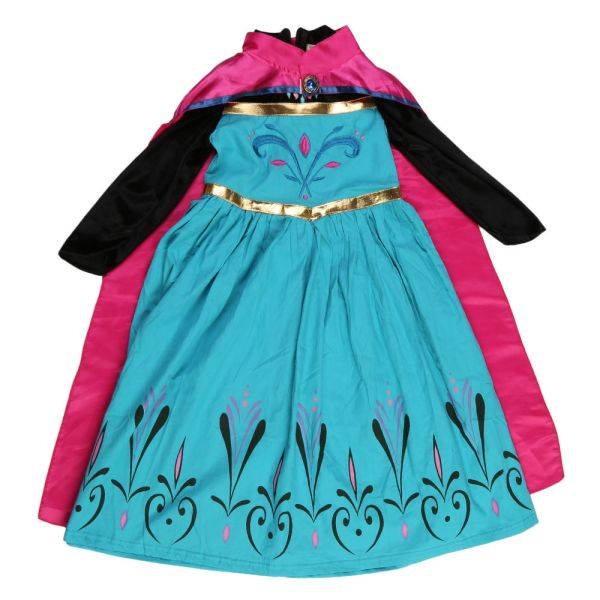 Girls Costume Princess Ice Queen Party Dresses Outfit Kids
