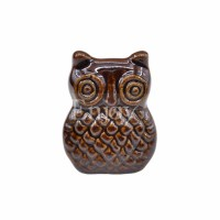 Cute Owl Shape Ceramic Cabinet Knob Closet Cupboard ...