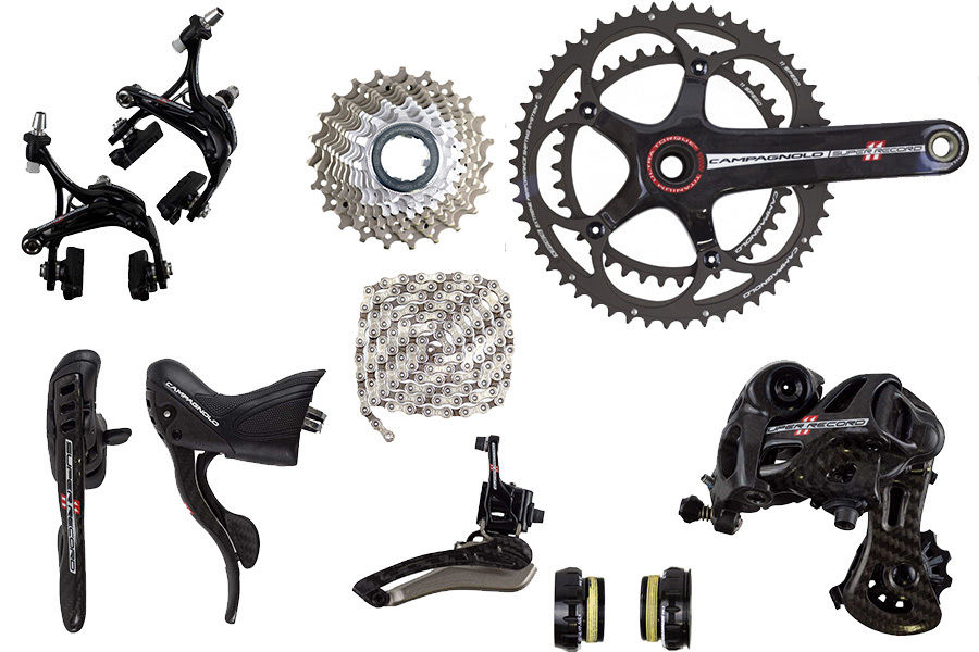 2015 Campagnolo Super Record 11 speed Group Set (With 2014