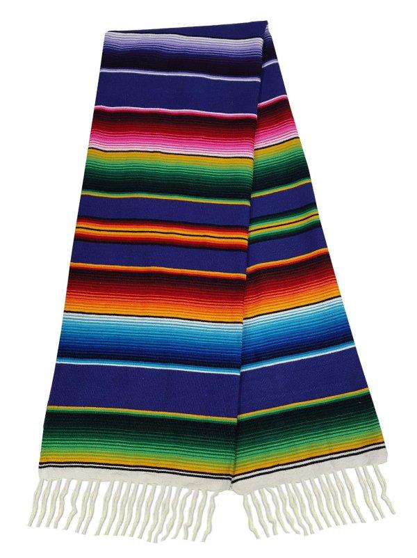 El Paso Design Extra Large Mexican Serape Blankets 84x62