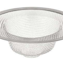 Kitchen Sink Basket Strainer Aid Stoves Harold 4 5 Quot Drain Stainless Steel Mesh