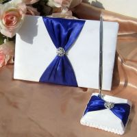 Wedding Guest Book And Pen Set Wedding Decoration Wedding ...