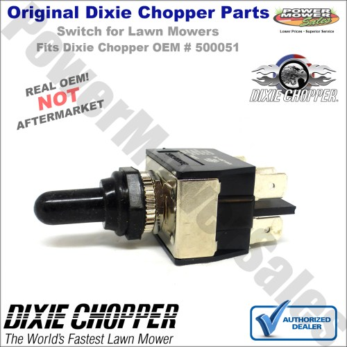 small resolution of dixie chopper deck lift wiring harness switch w boot for classic 2250 classic 2750 lawn mowers 500051