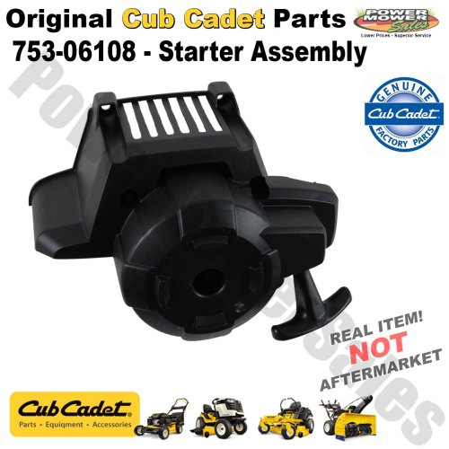 small resolution of cub cadet replacement starter assembly for string trimmer others 753 06108
