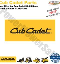 cub cadet mtd troy bilt fuel filter for cub cadet mini riders lawn mowers tractors 951 3013 751 3013 [ 1200 x 1200 Pixel ]
