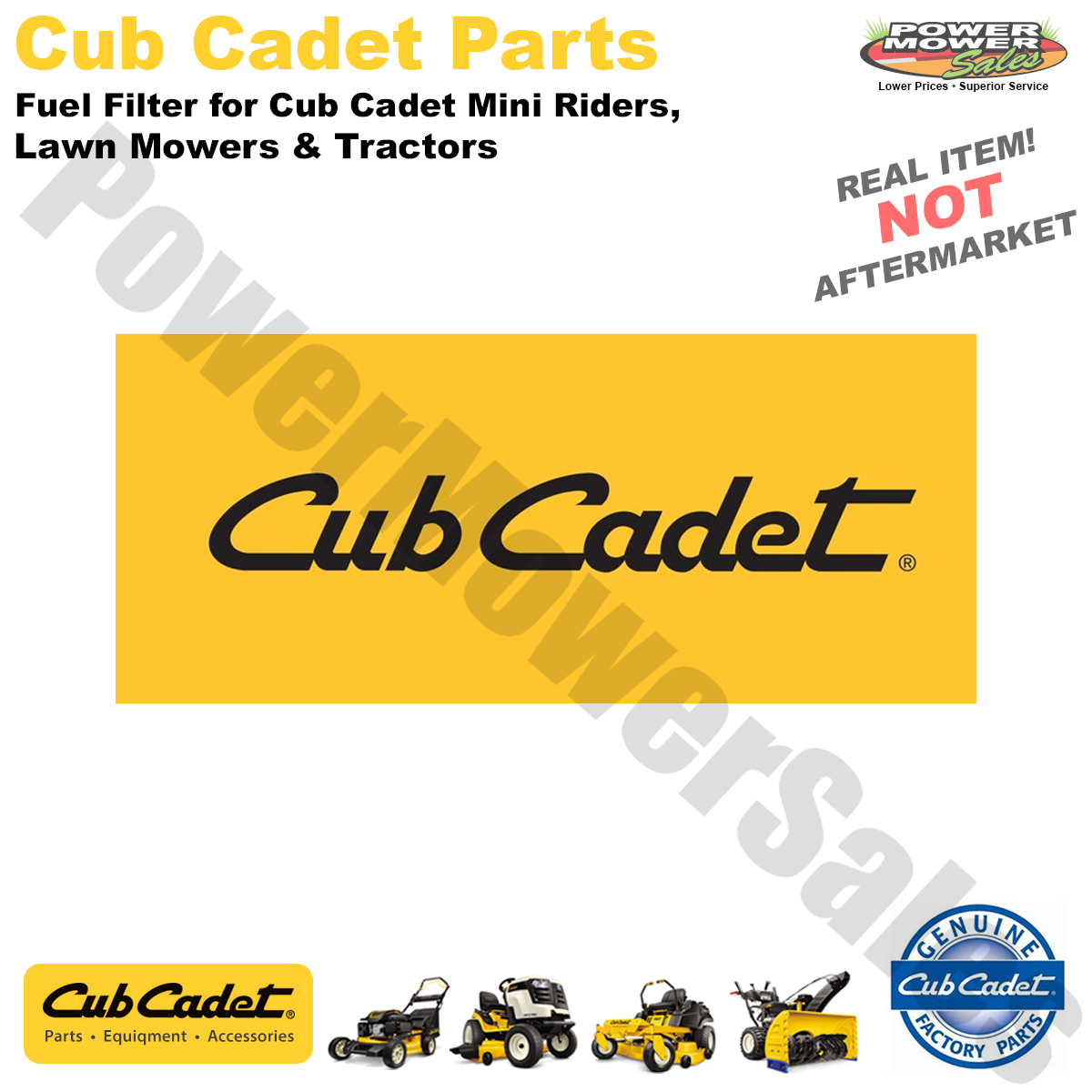 hight resolution of cub cadet mtd troy bilt fuel filter for cub cadet mini riders lawn mowers tractors 951 3013 751 3013