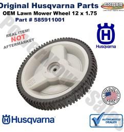 husqvarna lawn mower rear wheel hu700f hu625hwt 6021p xt721f 585911001 532401277 532410815 532448173 [ 1200 x 1200 Pixel ]