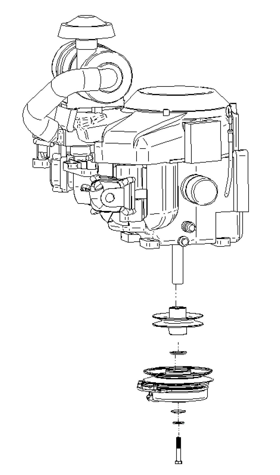 903277 Dixie Chopper Engine Kit for 36 HP Vanguard Manual