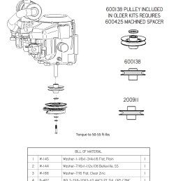 dixie chopper engine kit for 36 hp vanguard manual clutch engines generac 27 33 hp 903277 [ 2228 x 2860 Pixel ]