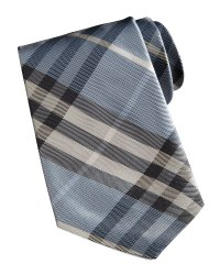 Burberry London Manston Check Silk Tie