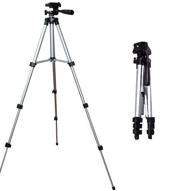 Universal Portable Aluminum Tripod Stand & Bag For Canon