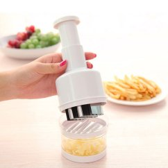 Kitchen Dicer Slicer Cleaning Wood Cabinets Pressing Vegetable Garlic Onion Food Peeler