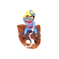 Dog Cowboy Riders Pet Clothes Doggie Puppy Cat Costume ...