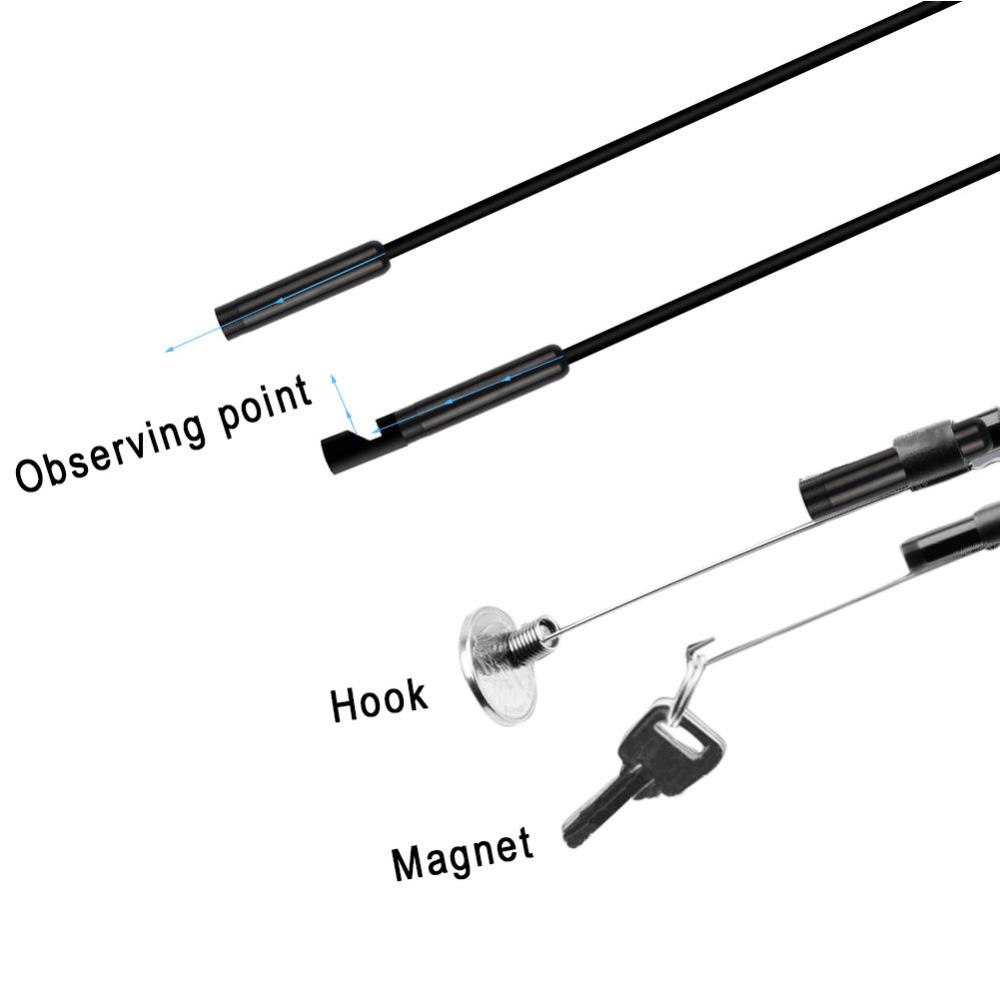 5m 6led WIFI Waterproof Endoscope Borescope Inspection