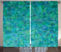 Abstract Irregular Triangle Mosaic Design Modern Art Deco ...