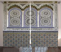 Moroccan Architecture Mosaic Wall Image Detailed Patterns ...