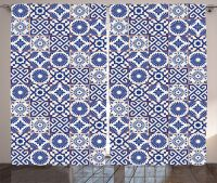 Moroccan Mosaic Tiles Pattern Folk Art Style Modern Print ...