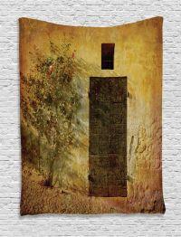 Antique Italian Door of Stone House Mediterranean Artprint ...