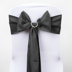 Polyester Chair Sashes Wholesale Baby Chairs For Infants Bows Ties Wedding Reception