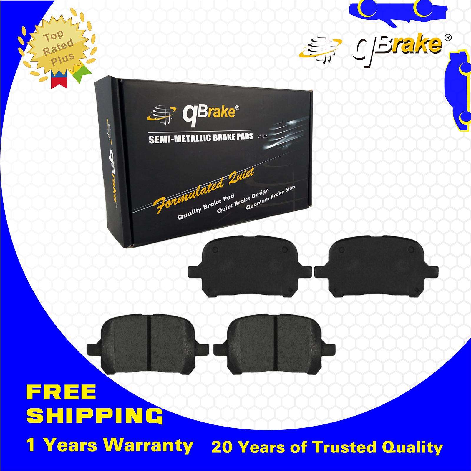 UP qBrake 4 Front Ceramic Brake Pads CD707 Set Fit LEXUS ES300