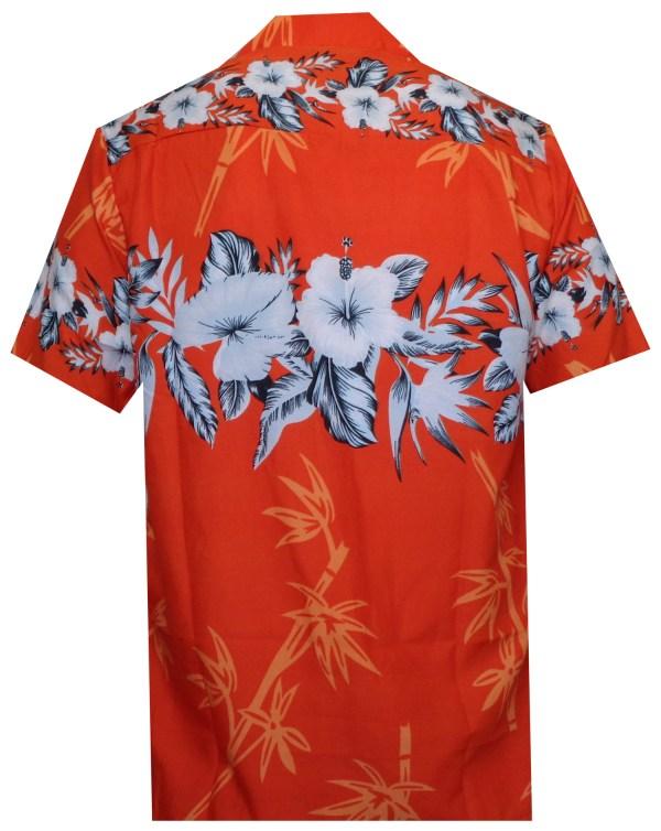 b45fc74f Hawaiian Shirts Mens Bamboo Tree Print Beach Aloha Party